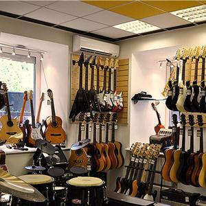 Музыкальные магазины Гирваса